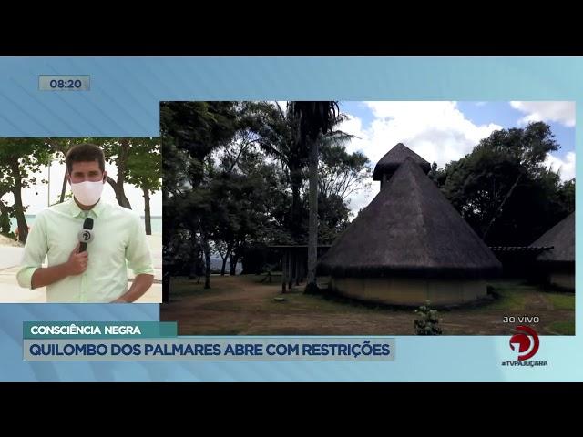 Consciência Negra: Quilombo dos Palmares abre com restrições