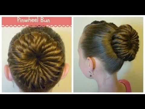 Pinwheel Bun Hairstyle Unique Ballerina Bun YouTube