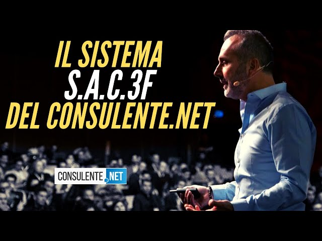 SISTEMA DI MARKETING DEL CONSULENTE (SAC3F)