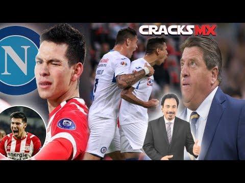 NAPOLI insiste en el CHUCKY; GUTI CEPILLADO | El AZUL vuelve a GANAR | PIOJO apoya a HUGO
