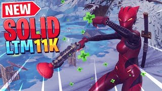 *NEW* Fortnite SOLID ICE Limited Time Mode!! - 11 Kill Game