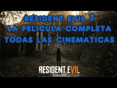 Resident Evil 7 | La Película Completa | Todas las Cinemáticas | Ingles - Sub Español