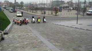 Elektrische Scooter Test Emax Evt En Qwic Youtube