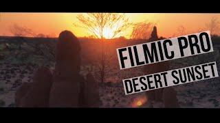iPhone X | filmic pro | Cinematic | Tanami desert sunset