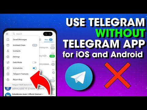 How To Use Telegram Without Telegram App [💥NEW💥2021💥] Telegram Web On Mobile Telegram Web On Chrome.