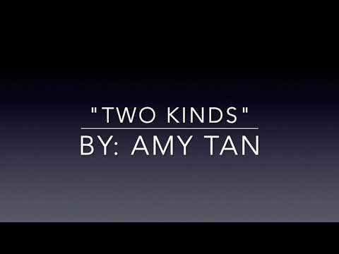 """Two Kinds"" By Amy Tan Audiobook Recording"