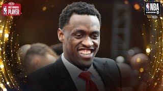 Pascal Siakam Wins Kia Most Improved Player   2019 NBA Awards