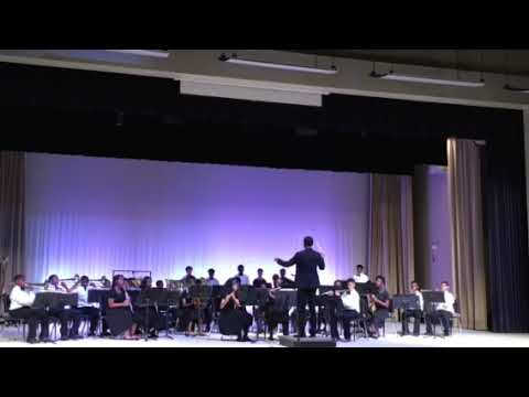 "Palmer Pillans Middle School Band performs ""Furioso"" by Robert W. Smith"
