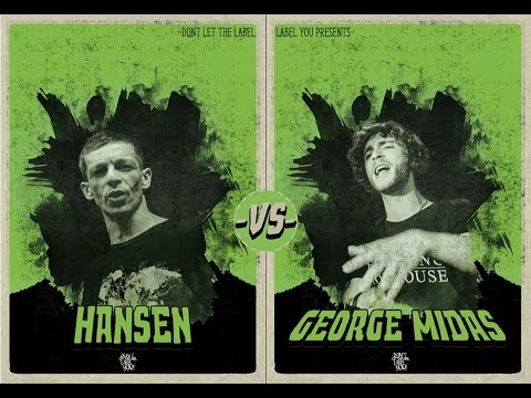 DLTLLY // Rap Battles // Hansen VS George Midas