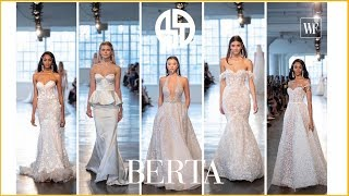 Cover images Berta 2020 collection | Barcelona bridal fashion week