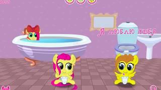 Новые Кьютимарочки, примеряем новинки маленьким карманным поняшкам. My little pony.