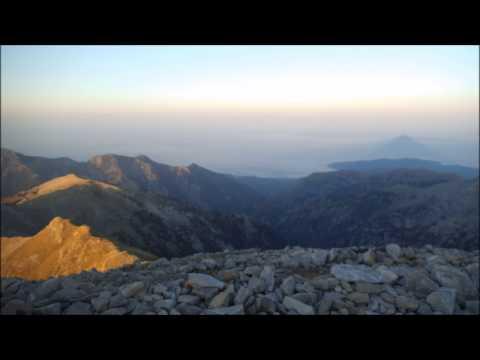 Taygetos Pyramid Phenomenon - Sparta Lakonia - Sunset and Sunrise!