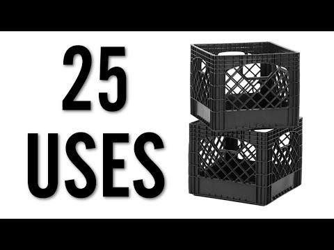 25 Amazing Uses for Milk Crates