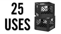 25 Amazing Uses for Milk Crates