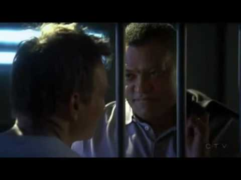 CSI Dr Ray Langston Gets Stabed