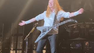 Holy Wars…The Punishment Due by Megadeth Live at the 2021 Metal Tour of the Year Albuquerque NM