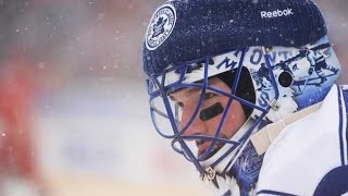 Best NHL Outdoor Saves