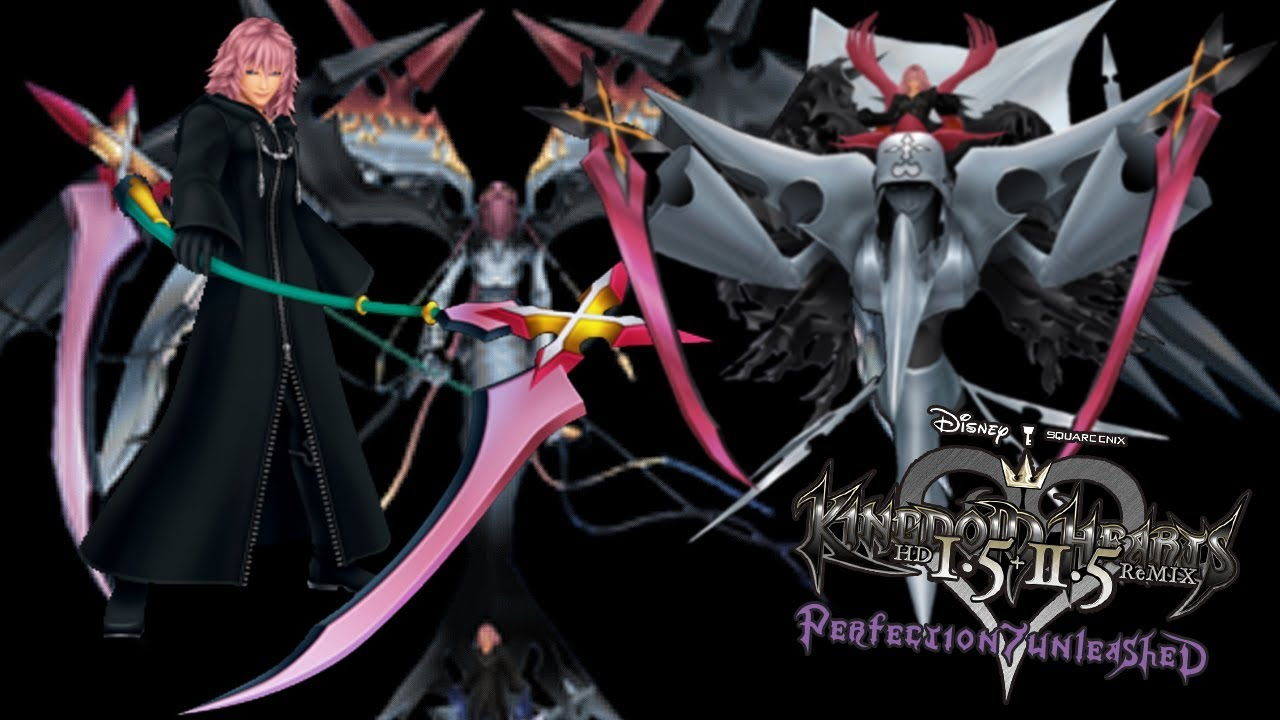 Kingdom Hearts Com Sora Proud Mode Final Boss Marluxia 2nd Encounter Forms 1 And 2