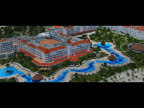 Realistic 3D Hotel/Resort Maps generated by UAV Aerial Surveys