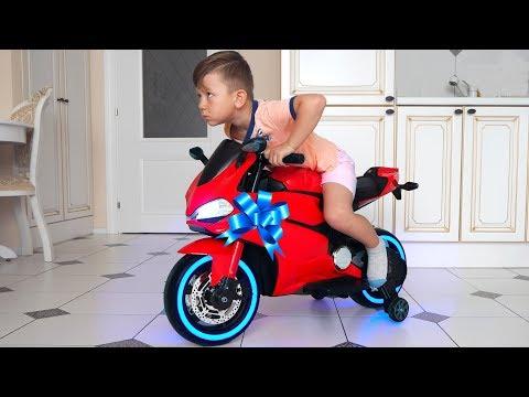 видео: Сеня и его Новый мини СпортБайк