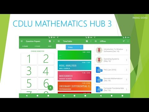 CDLU Mathematics Hub - Apps on Google Play