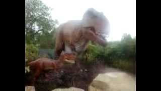 T-Rex With Baby