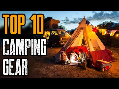 TOP 10 Best Camping Gear & Gadgets 2020