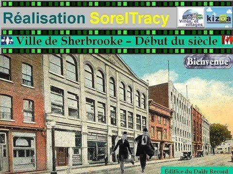 Ville de Sherbrooke - Debut du siecle