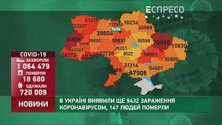 Коронавірус в Украі ні статистика за 1 січня