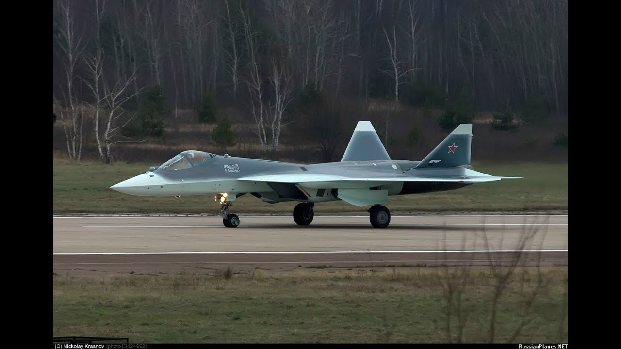Airplane T-50-11 arrived in Zhukovsky 26
