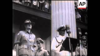 Japan Surrenders To Lord Louis - 1945
