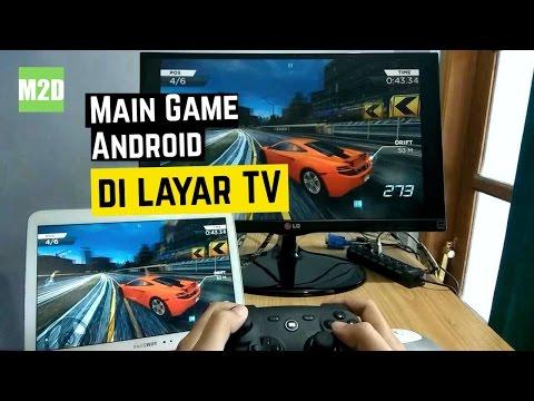 Cara Menghubungkan Android ke TV atau Monitor via HDMI [Screen Mirroring - MHL]