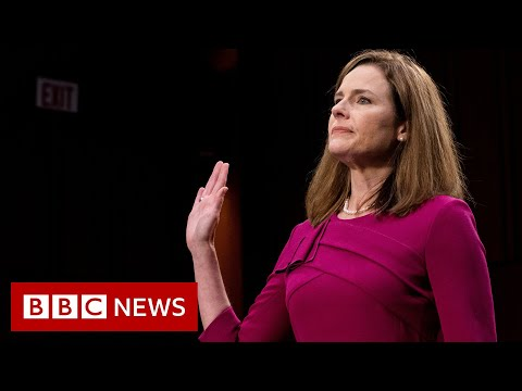 Amy Coney Barrett: Trump nominee testifies in Supreme Court hearing - BBC News