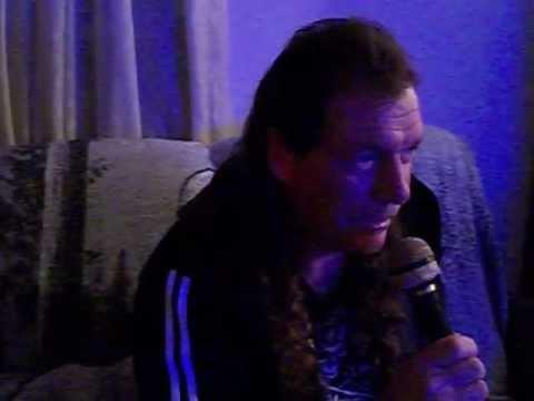 Earl singing karaoke