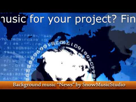 NEWS - background music for news intro / news sound/ news music/ royalty-free music track