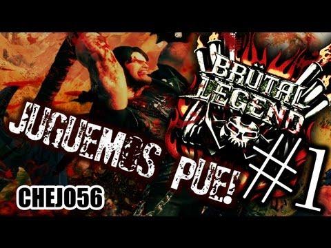 THE METAL GAME! Brutal Legend (P1) - Walkthrough - Juguemos pue! CHEJO56