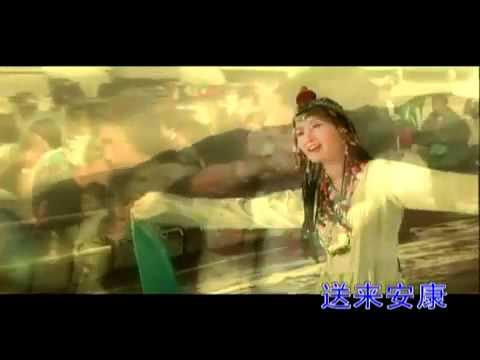 Gong Yue    Tian Lu 天路 A Road in Heaven  Qinghai Tibet Railway Song youtube original