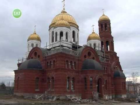 Строительство Свято-Троицкого храма, отделочные работы