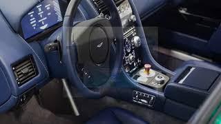 2019 Aston Martin RapidE Electric Sedan | Shape like a fighter-jet