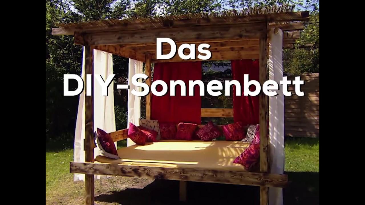 sonnenbett selbst bauen - diy mit kenny - trailer - youtube