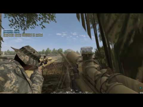 Project Reality: 3 Man Sniper Team - Yellow Ants in Combat