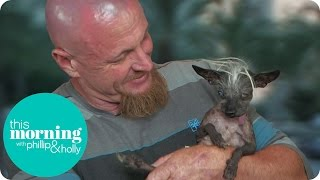 Holly And Phillip Meet The World's Ugliest Dog | This Morning
