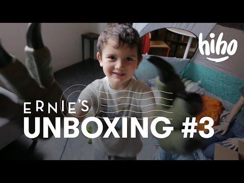 Ernie Unboxes a Velociraptor! #3