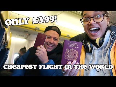 CHEAPEST FLIGHT In The World - Only £3.99! Ft Simon Wilson | Clickfortaz