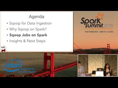 Sqoop on Apache Spark for Data Ingestion