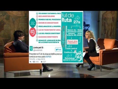 """Carles Puigdemont: """"No està previst fer una declaració unilateral d'independència"""""""