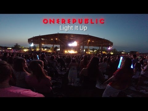 OneRepublic - Light It Up (Live) Klipsch Music Center Indianapolis, IN 8/3/2014