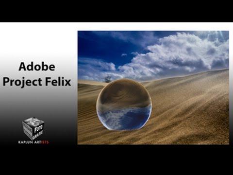 Adobe Projekt Felix - 3d-Objekte in 2d-Bilder einbauen (in 4k)