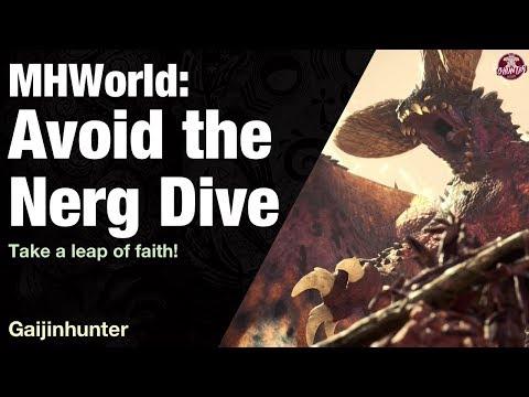 Monster Hunter World: Avoid Nergigante's Dive
