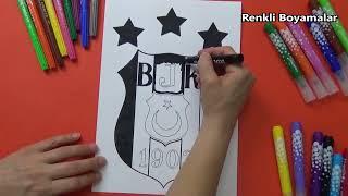 Download Besiktas 3 Yildiz Logo Boyama Sayfasi